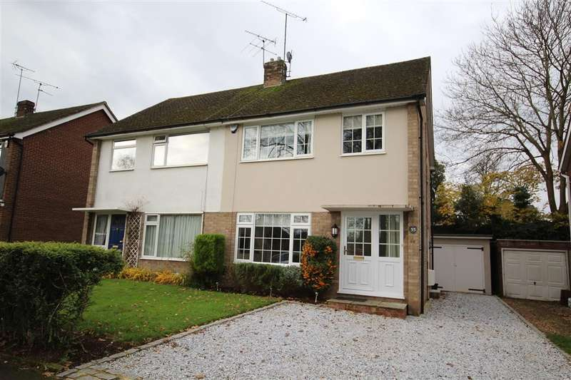 3 Bedrooms Semi Detached House for sale in Hermitage Drive, Twyford, RG10