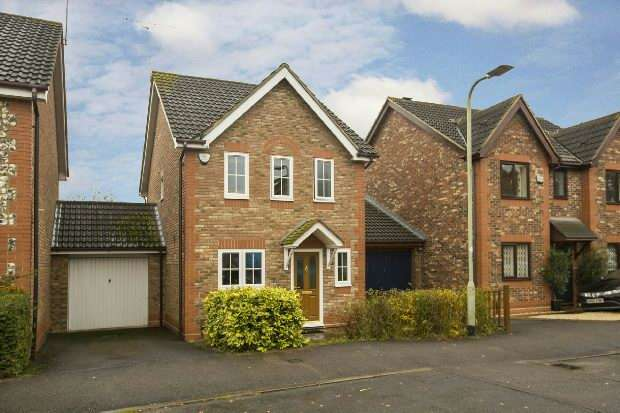 3 Bedrooms Link Detached House for sale in Moorhen Drive, Lower Earley, Reading