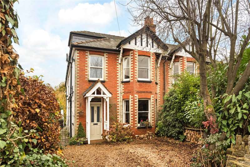 4 Bedrooms Semi Detached House for sale in Busbridge Lane, Godalming, Surrey, GU7