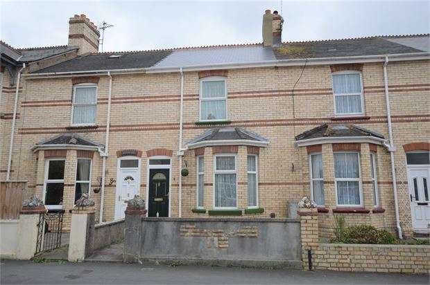 3 Bedrooms Terraced House for sale in Deer Park Road, Decoy, Newton Abbot, Devon. TQ12 1DH