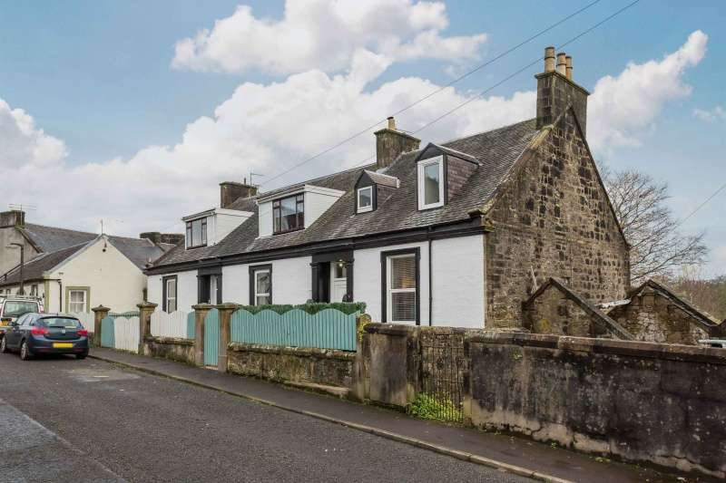 2 Bedrooms Semi-detached Villa House for sale in Garnock Street, Dalry, KA24 4BT