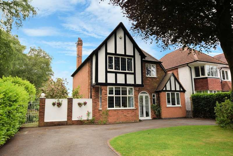 4 Bedrooms Detached House for sale in Sharmans Cross Road, Solihull