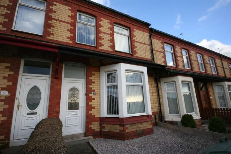 3 Bedrooms Terraced House for sale in Belvidere Road, Wallasey, CH45 4RZ