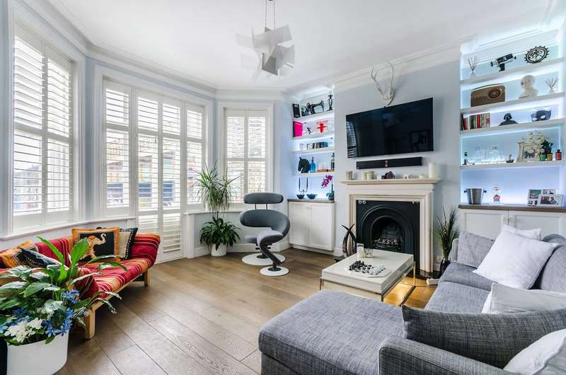 3 Bedrooms Flat for sale in Goldhawk Road, Stamford Brook, W6