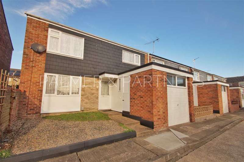 3 Bedrooms Semi Detached House for sale in Imogen Close, Colchester