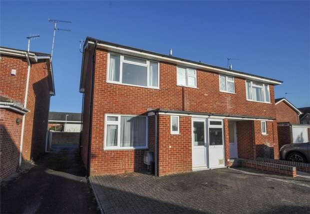 3 Bedrooms Semi Detached House for sale in Grenville Road, WIMBORNE, Dorset