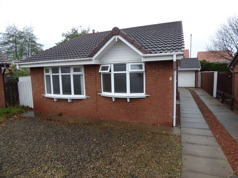2 Bedrooms Detached Bungalow for sale in West Scar, The Ings