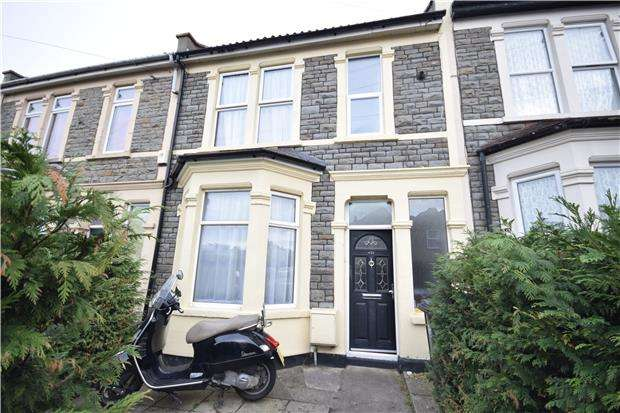 2 Bedrooms Terraced House for sale in Soundwell Road, Kingswood, BRISTOL, BS15 1JT