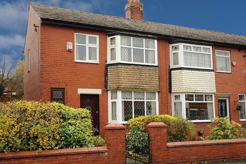 2 Bedrooms End Of Terrace House for sale in Werneth Crescent, Oldham