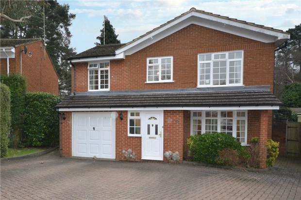 5 Bedrooms Detached House for sale in Old Portsmouth Road, Camberley, Surrey