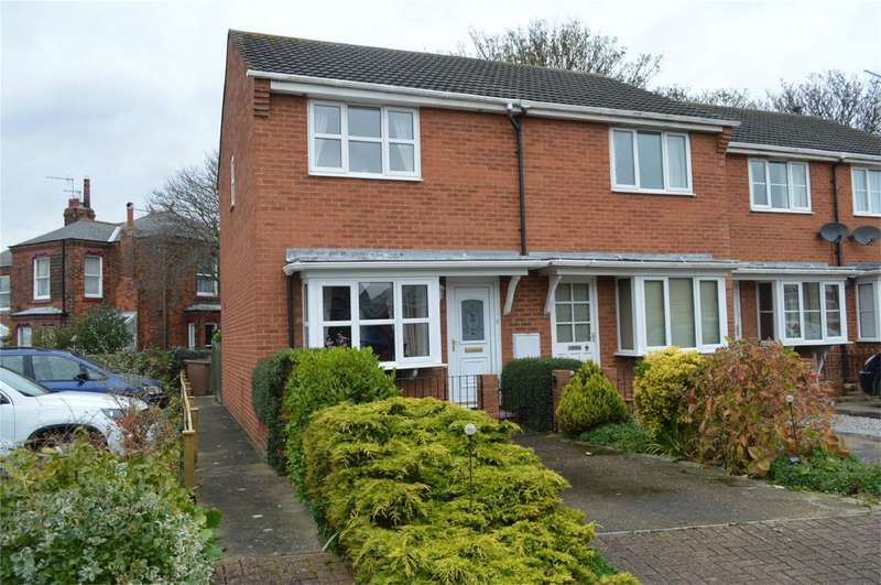 2 Bedrooms End Of Terrace House for sale in 36 Station Court, Hornsea