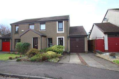 3 Bedrooms Semi Detached House for sale in Redpath Drive, Stenhousemuir