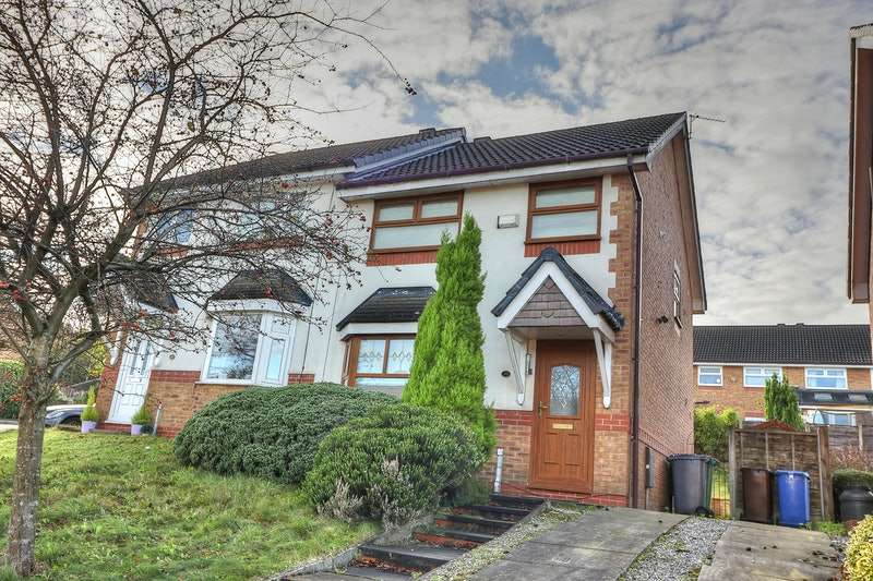 3 Bedrooms Semi Detached House for sale in Haweswater Crescent, Bury, Lancashire, BL9