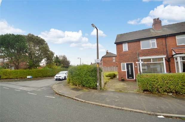3 Bedrooms Semi Detached House for sale in Roslyn Road, Davenport, Stockport, Cheshire