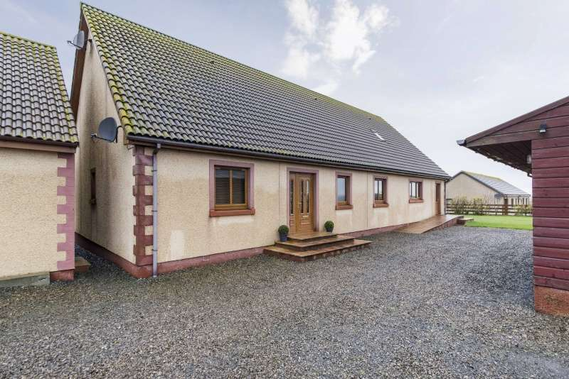 4 Bedrooms Bungalow for sale in , Achalone, Halkirk, Caithness, KW12 6XA