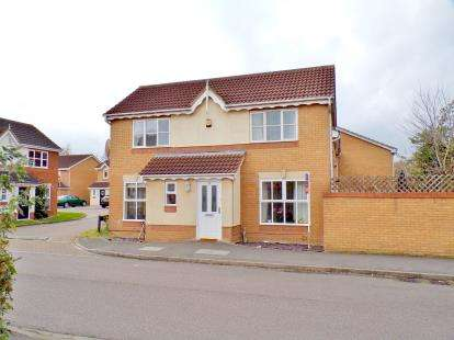 3 Bedrooms Detached House for sale in Armstrong Drive, Bedford, Bedfordshire