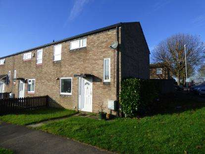 3 Bedrooms End Of Terrace House for sale in Kilnway, Wellingborough, Northamptonshire, Northants