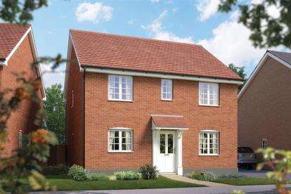 4 Bedrooms Detached House for sale in Off Silfield Road, Wymondham, Norfolk