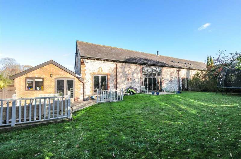 4 Bedrooms Barn Conversion Character Property for sale in Aldsworth Manor Barns, Aldsworth, West Sussex, PO10