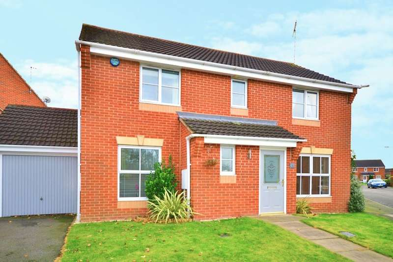 4 Bedrooms Detached House for sale in Frank Bodicote Way, Swadlincote, DE11