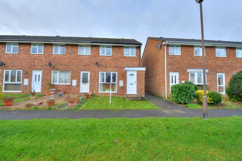 3 Bedrooms End Of Terrace House for sale in Carroll Close, Newport Pagnell, Buckinghamshire