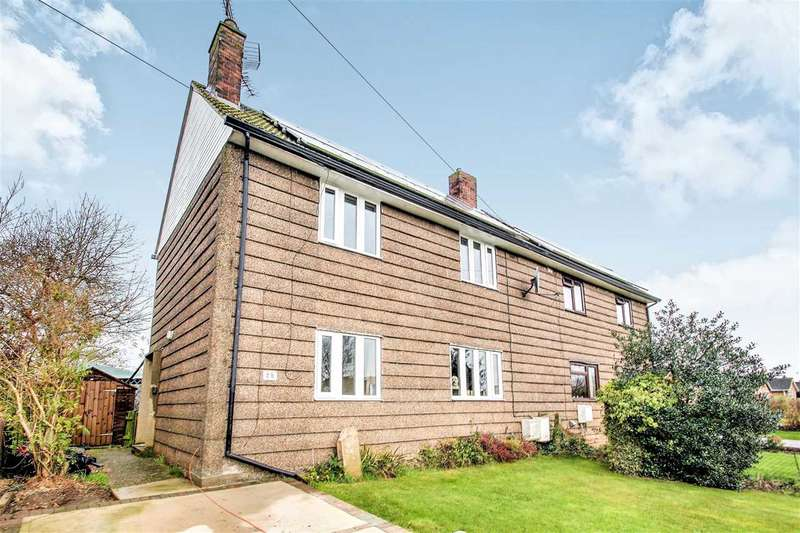 3 Bedrooms Semi Detached House for sale in Chapel Lane, Navenby, Navenby, Lincoln