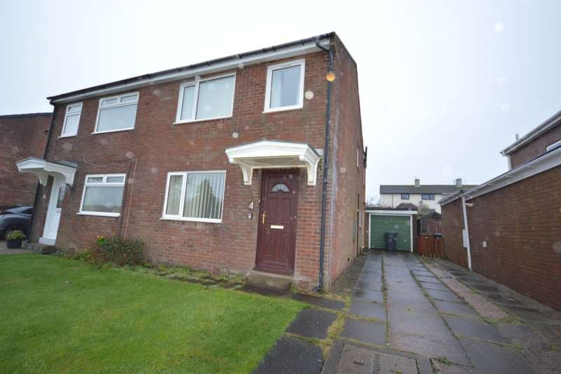 3 Bedrooms Semi Detached House for sale in Daleview Close, Egremont, CA22