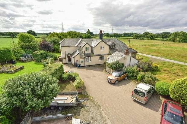 4 Bedrooms Semi Detached House for sale in Welsh Road,, Ledsham, Ellesmere Port, Cheshire