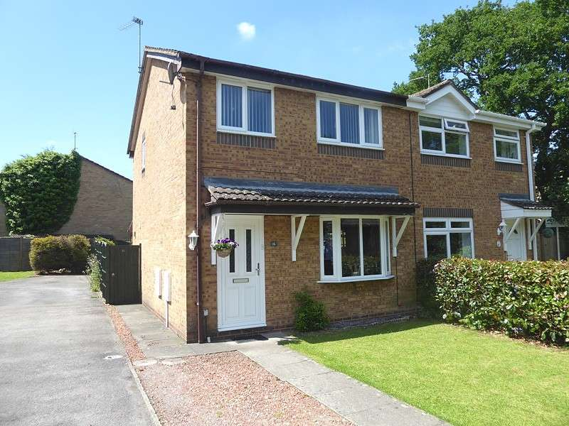 3 Bedrooms Semi Detached House for sale in Downscroft Gardens, Hedge End, Southampton, SO30