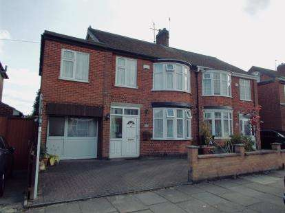 4 Bedrooms Semi Detached House for sale in Northdene Road, Leicester, Leicestershire