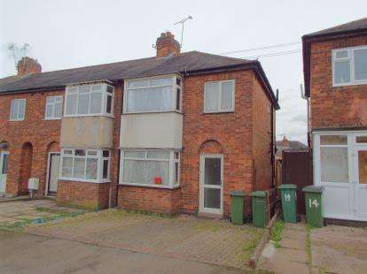 3 Bedrooms End Of Terrace House for sale in Leyland Road, Braunstone Town, Leicester, Leicestershire