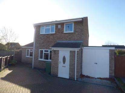 3 Bedrooms Detached House for sale in Garsdale, Wigston, Leicester