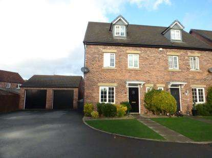 4 Bedrooms Semi Detached House for sale in Lewis Walk, Kirkby, Liverpool, Merseyside, L33