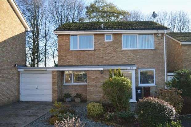 4 Bedrooms Detached House for sale in South Priors Court, Lings, Northampton NN3 8LD