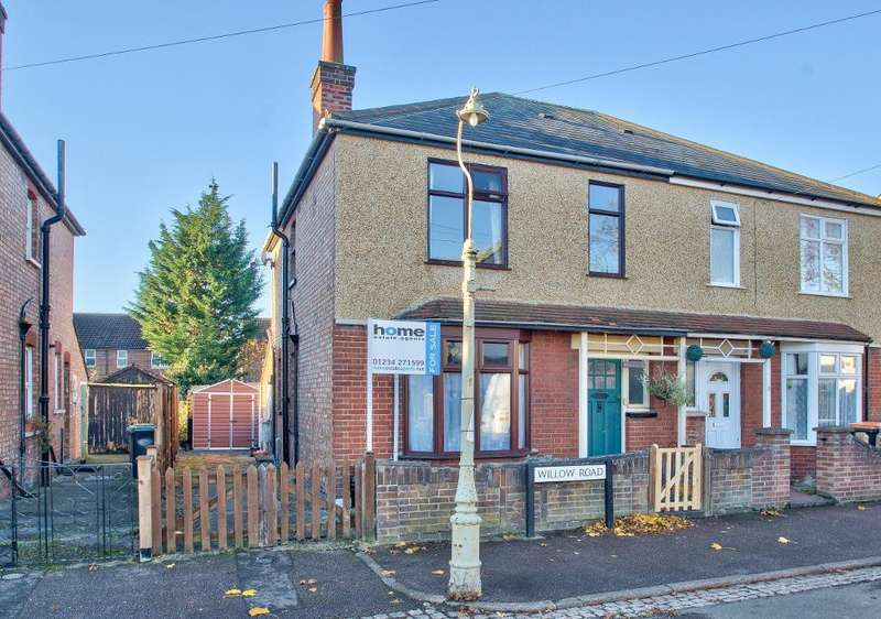 3 Bedrooms Semi Detached House for sale in Willow Road, Bedford, MK42 0QS