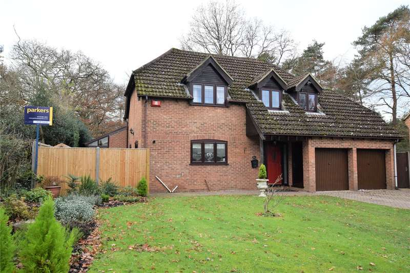 4 Bedrooms Detached House for sale in Brackenwood, Burghfield Common, RG7