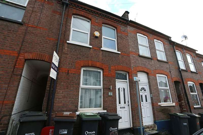 2 Bedrooms Terraced House for sale in Hartley Road, Luton, Bedfordshire, LU2 0HY