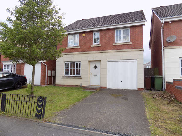 4 Bedrooms Detached House for sale in Wrenbury Drive, Bilston, WV14
