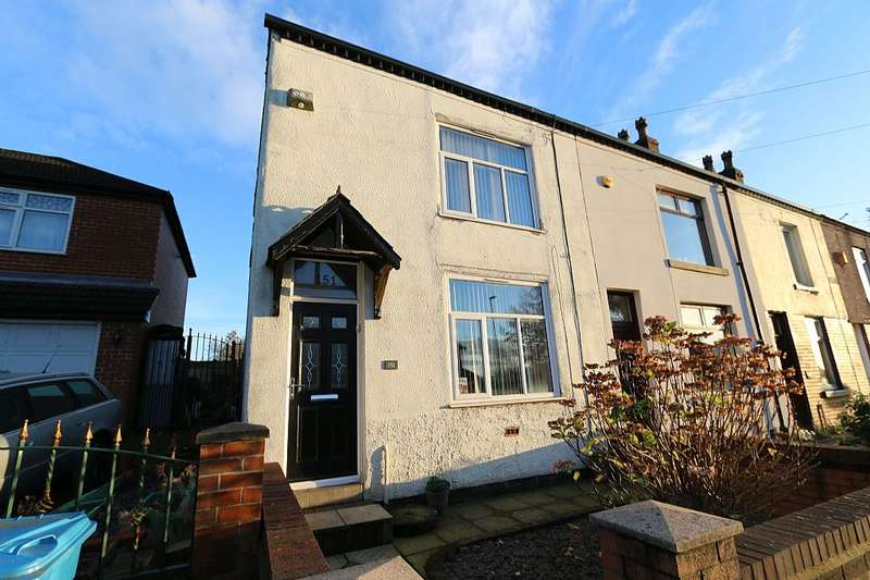 3 Bedrooms End Of Terrace House for sale in Bridgewater Road, Worsley, Manchester, Greater Manchester, M28 3AF