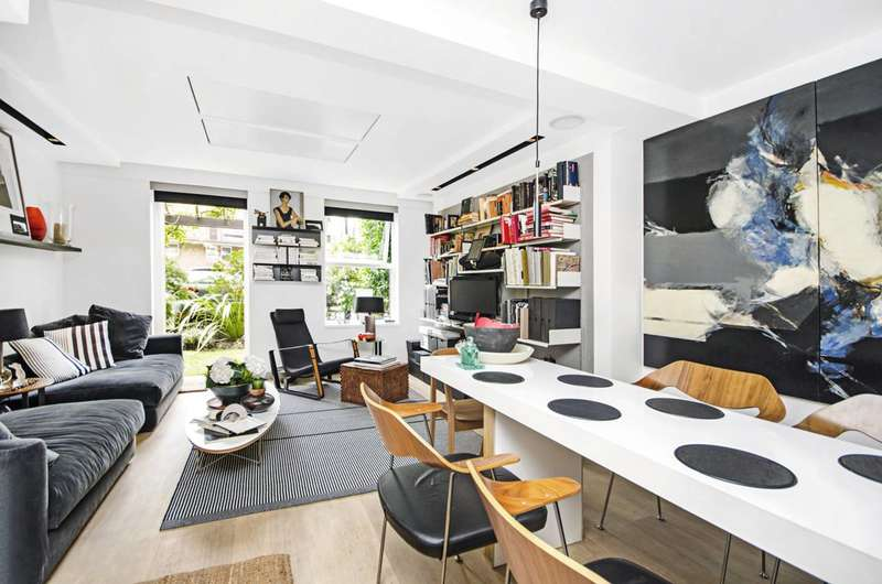 2 Bedrooms Maisonette Flat for sale in Riverside Mansions, Wapping, E1W