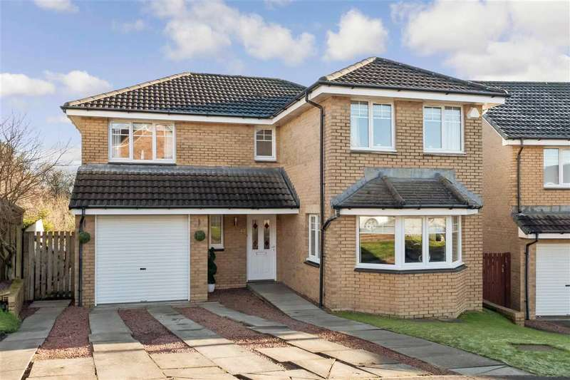 4 Bedrooms Detached House for sale in Burnside View, Lindsayfield, EAST KILBRIDE