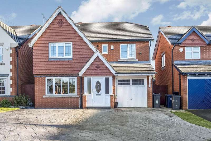 4 Bedrooms Detached House for sale in Parkside Avenue, Skelmersdale, WN8