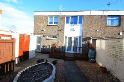 2 Bedrooms End Of Terrace House for sale in Annandale Gardens, Glenrothes