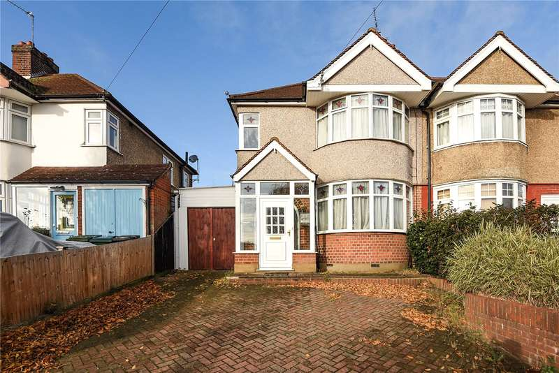 3 Bedrooms Semi Detached House for sale in Hillrise Avenue, Watford, Hertfordshire, WD24