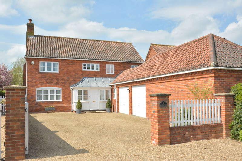 4 Bedrooms Detached House for sale in Shotford Road, Harleston