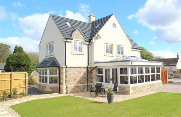 5 Bedrooms Detached House for sale in Binegar Lane, Gurney Slade, Radstock