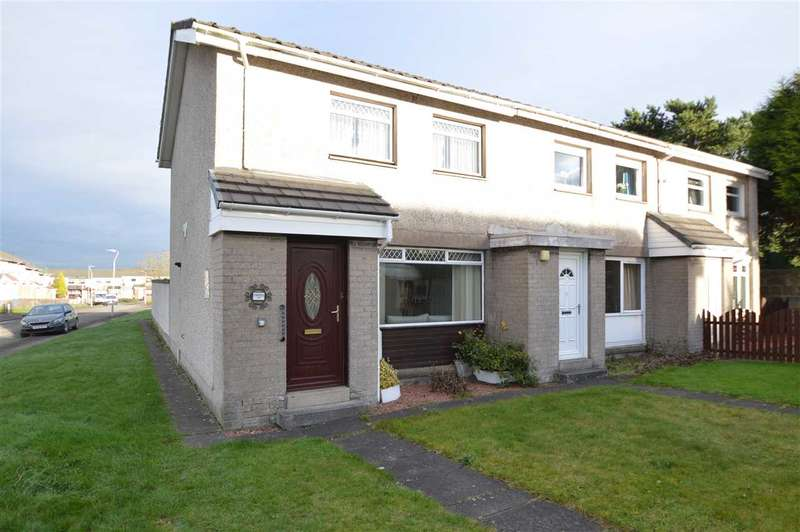 2 Bedrooms End Of Terrace House for sale in Moorfield Road, Blantyre