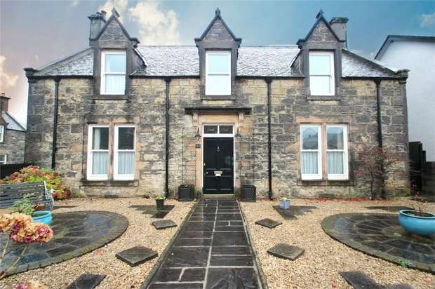 4 Bedrooms Detached House for sale in Rockdale, Green Street, Rothes, Moray