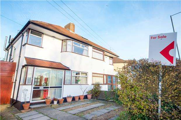 3 Bedrooms Semi Detached House for sale in Streatfield Road, KENTON, Middlesex, HA3 9BL