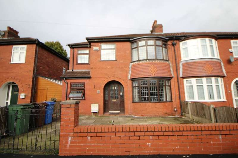 4 Bedrooms Semi Detached House for sale in Barlow Fold Road, Reddish, Stockport, SK5